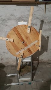 Holzrahmen gebrochen
